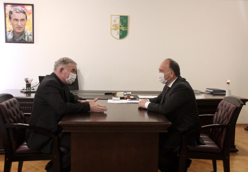 On the meeting with Garry Kupalba