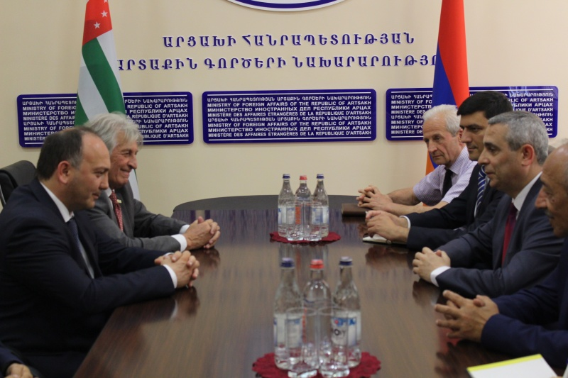 The Delegation of the Republic of Abkhazia continues its visit to the Artsakh Republic