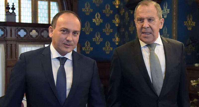 Daur Kove congratulated Sergey Lavrov on the Day of the Diplomatic Official
