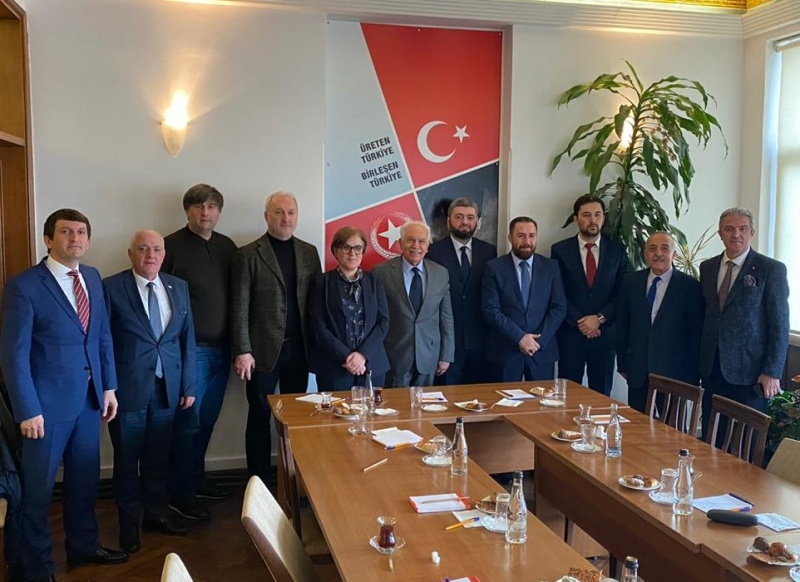 On the meeting at the office of the «Vatan» party in Turkey