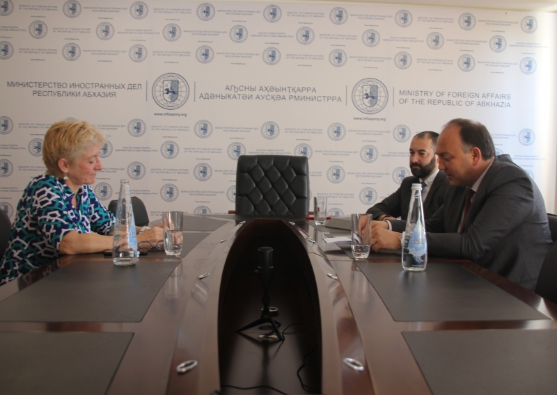 On the meeting with Louise Winton, the UNDP Permanent Representative