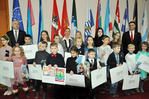 "The finalists of the children's drawing contest ""Abkhazia, South Ossetia and Transdniestria: friendship, sealed by time"" were awarded in Tiraspol"
