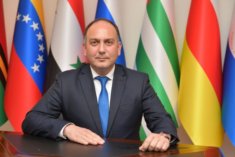 Daur Kove appointed as the Minister of Foreign Affairs of the Republic of Abkhazia