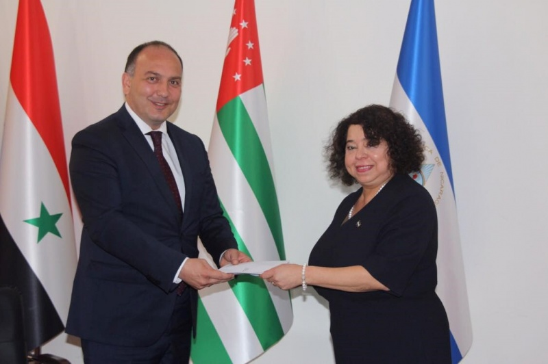 Alba Azucena Torres Mejia was appointed as the Ambassador of the Republic of Nicaragua to the Republic of Abkhazia