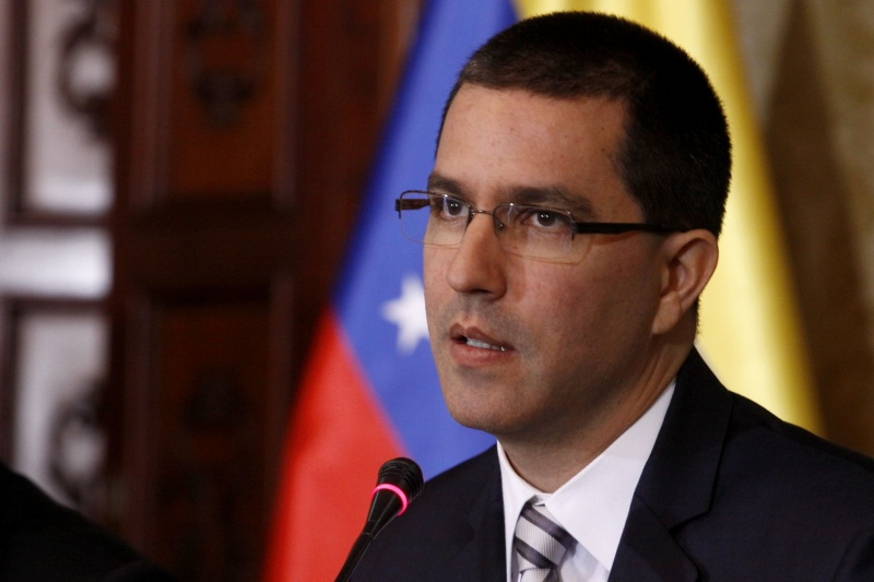 Daur Kove congratulated Jorge Alberto Arreaza Monserrat on the occasion of his birthday