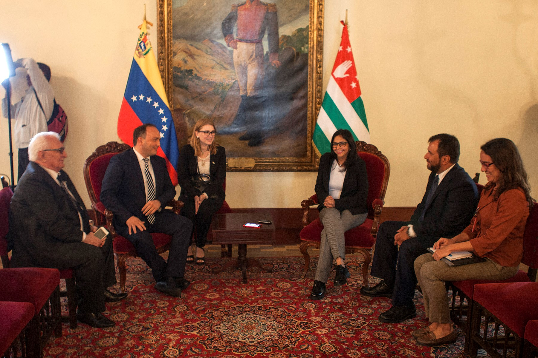 Visit of the delegation of the Republic of Abkhazia to the Bolivarian Republic of Venezuela