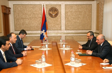 On the meeting with Bako Sahakyan, the President of the Republic of Artsakh