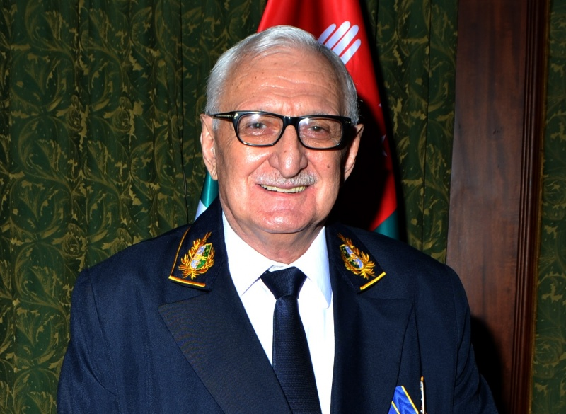 Daur Kove congratulated Zaur Gvadzhava on his birthday