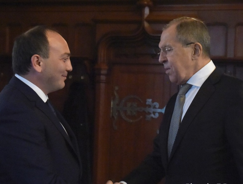 Daur Kove and Sergey Lavrov exchanged congratulations on the coming New Year and Christmas