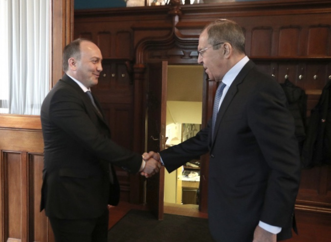 Daur Kove congratulated Sergey Lavrov on the occasion of his anniversary
