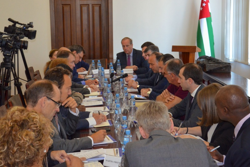 On the meeting with the Co-Chairs of the International Geneva Discussions