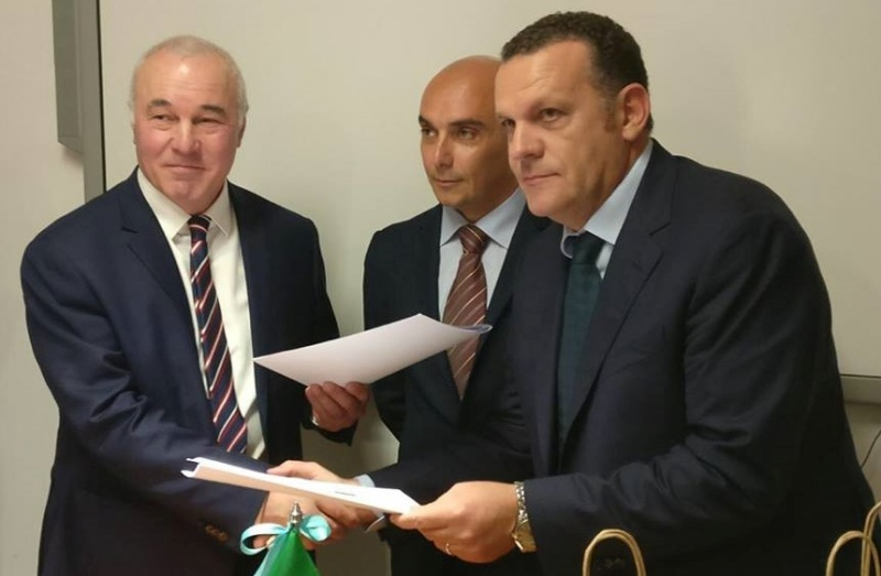 Mayor of Sukhum signed a protocol of intentions with one of the Italian cities